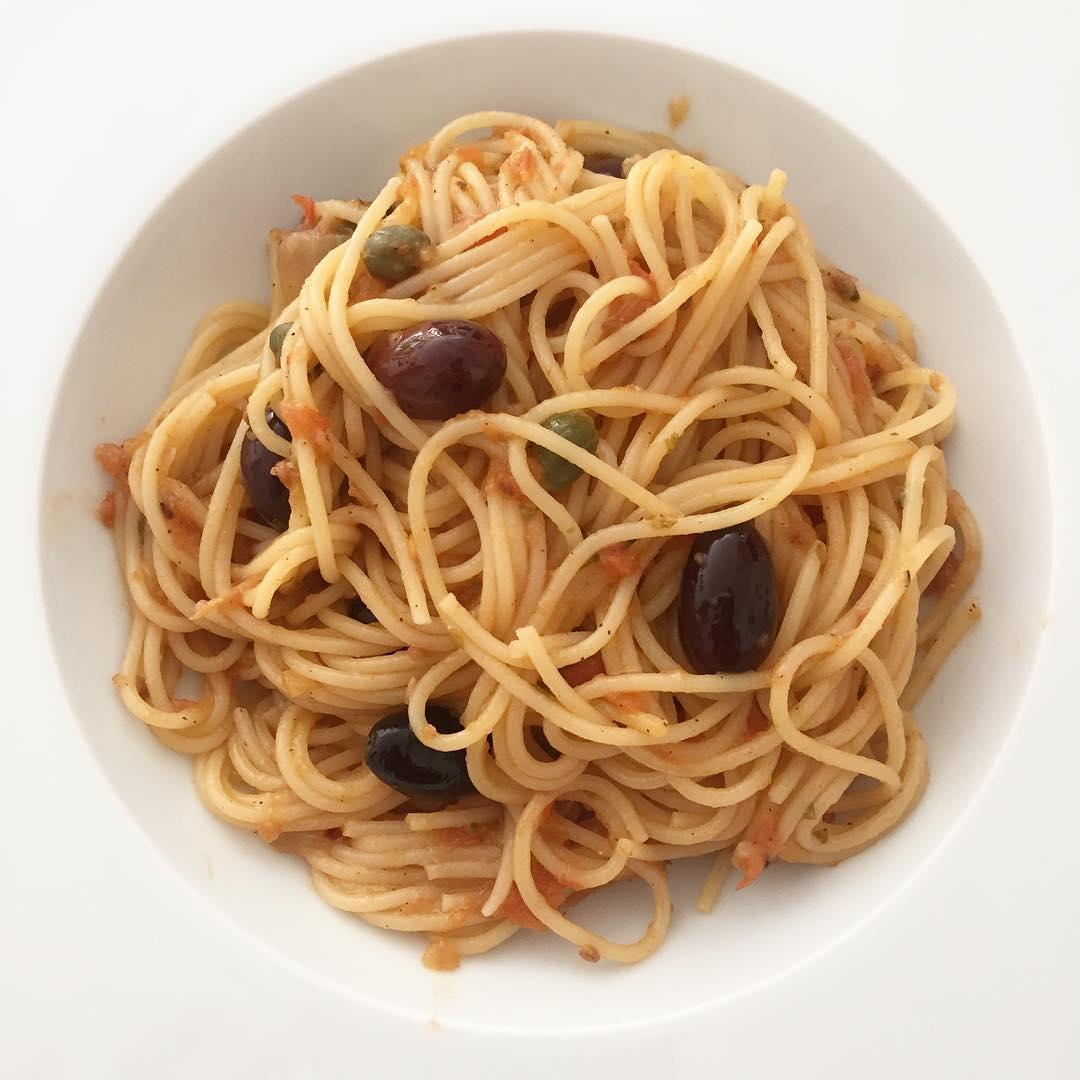 receta-espaguetis-a-la-putanesca
