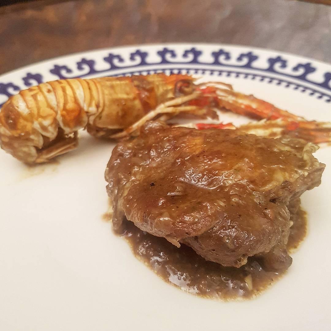 receta-pollo-con-cigalas