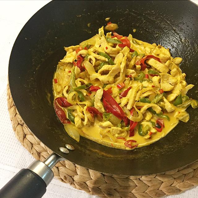 recepta-wok-de-pollastre-al-curri-amb-verdures